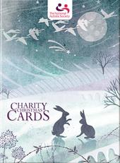 Box of 12 Winter Scene National Autistic Society Charity Christmas Card