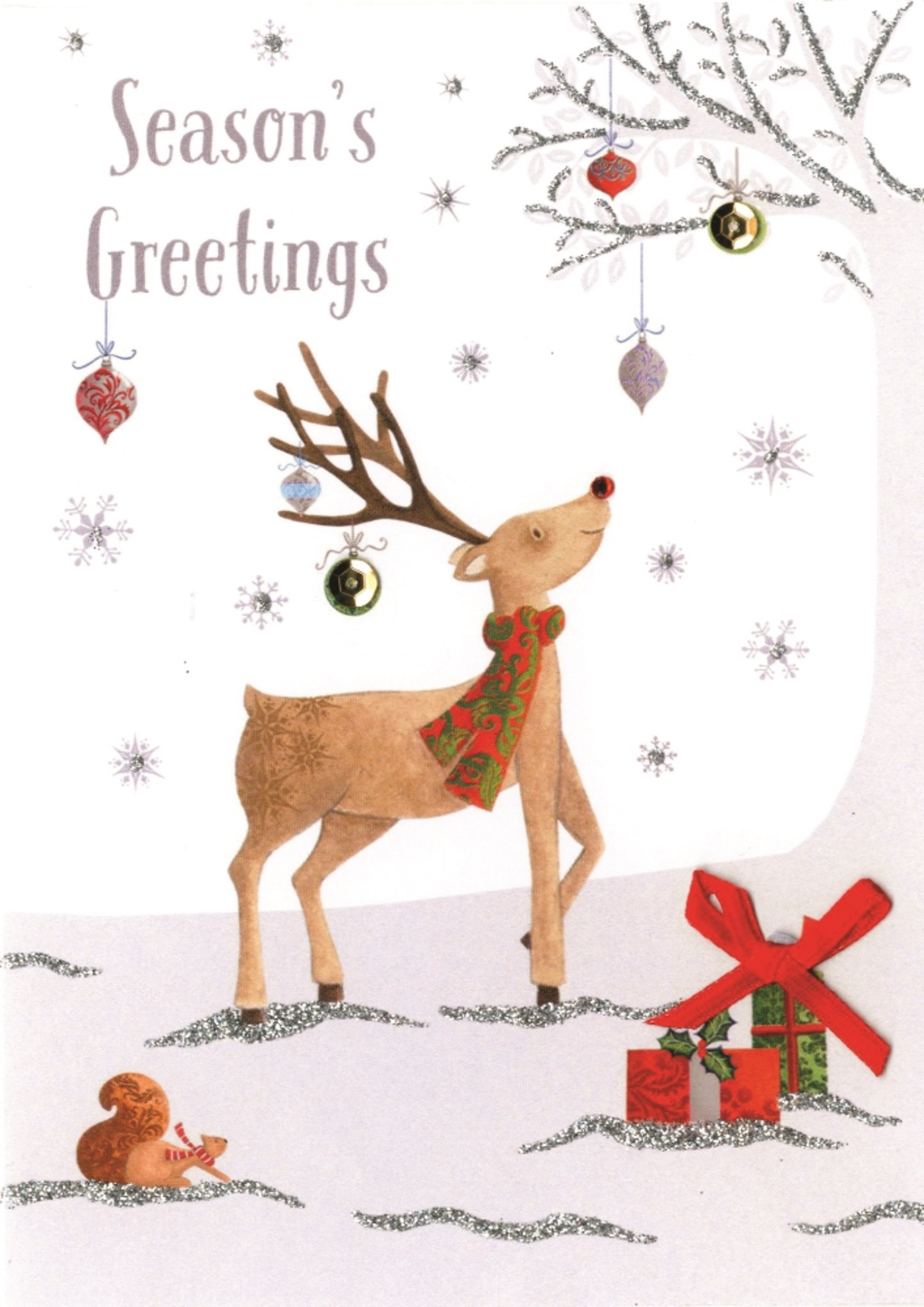 Individual Embellished Special Christmas Card
