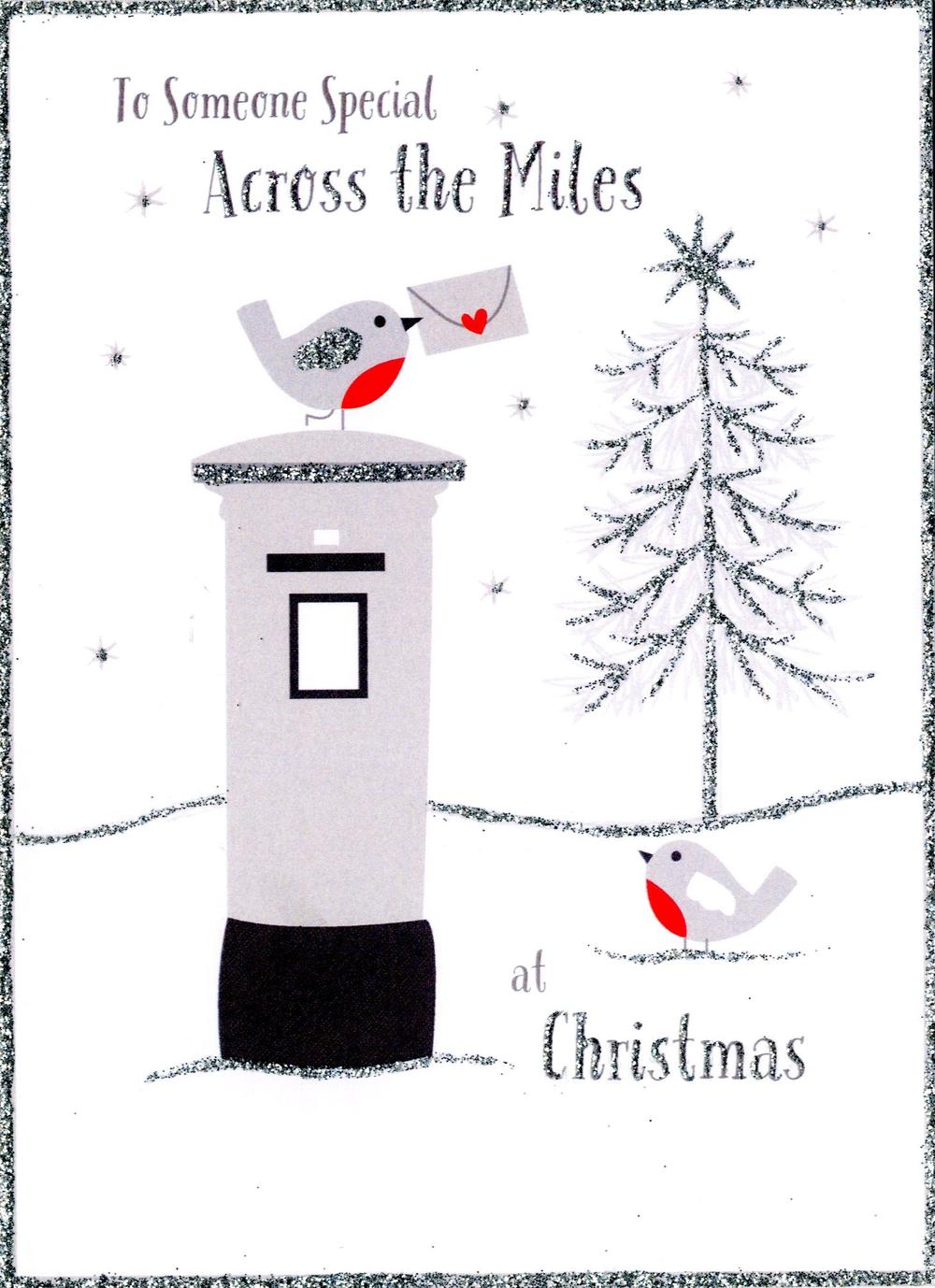Someone Special Across the Miles Christmas Card
