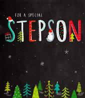 Stepson Christmas Greeting Card