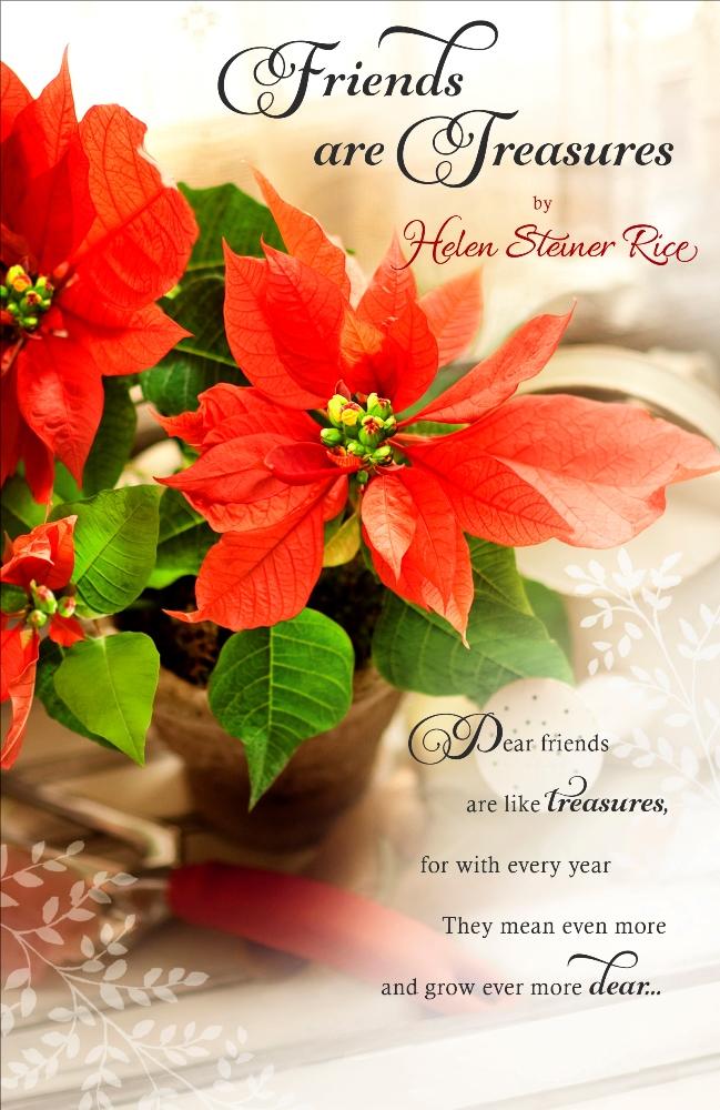 helen steiner rice religious christmas greeting card lovely verse
