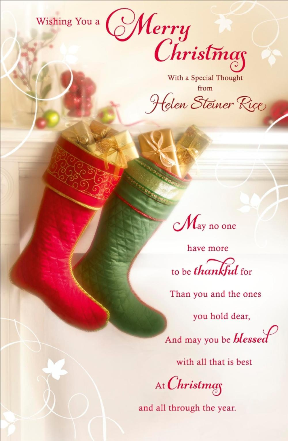Religious Christmas Images.Helen Steiner Rice Religious Christmas Greeting Card