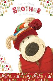 Boofle Great Brother Christmas Greeting Card