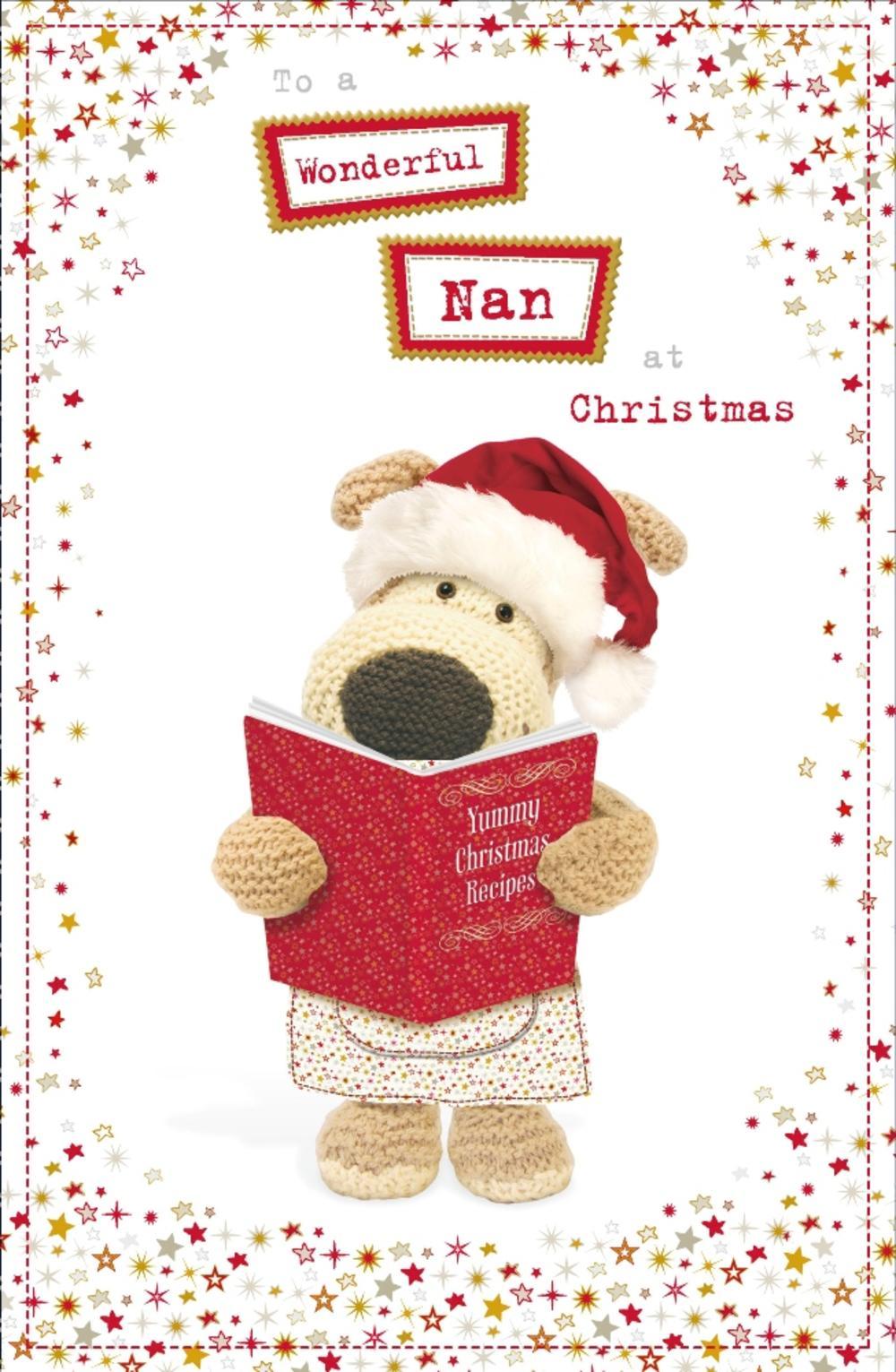 Boofle Wonderful Nan Christmas Greeting Card