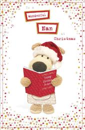 Boofle Wonderful Nan Christmas Greeting Card