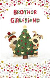 Boofle Brother & His Girlfriend Christmas Greeting Card