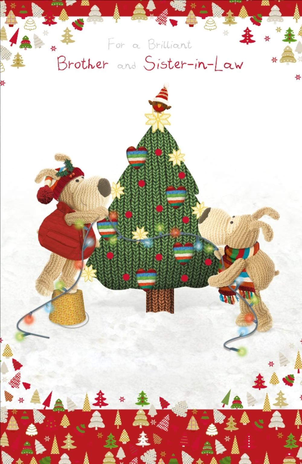 Boofle brother sister in law christmas greeting card cards boofle brother sister in law christmas greeting card m4hsunfo