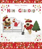 Boofle Nan & Grandad Christmas Greeting Card