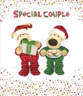 Boofle Special Couple Christmas Greeting Card