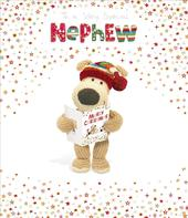 Boofle Special Nephew Christmas Greeting Card