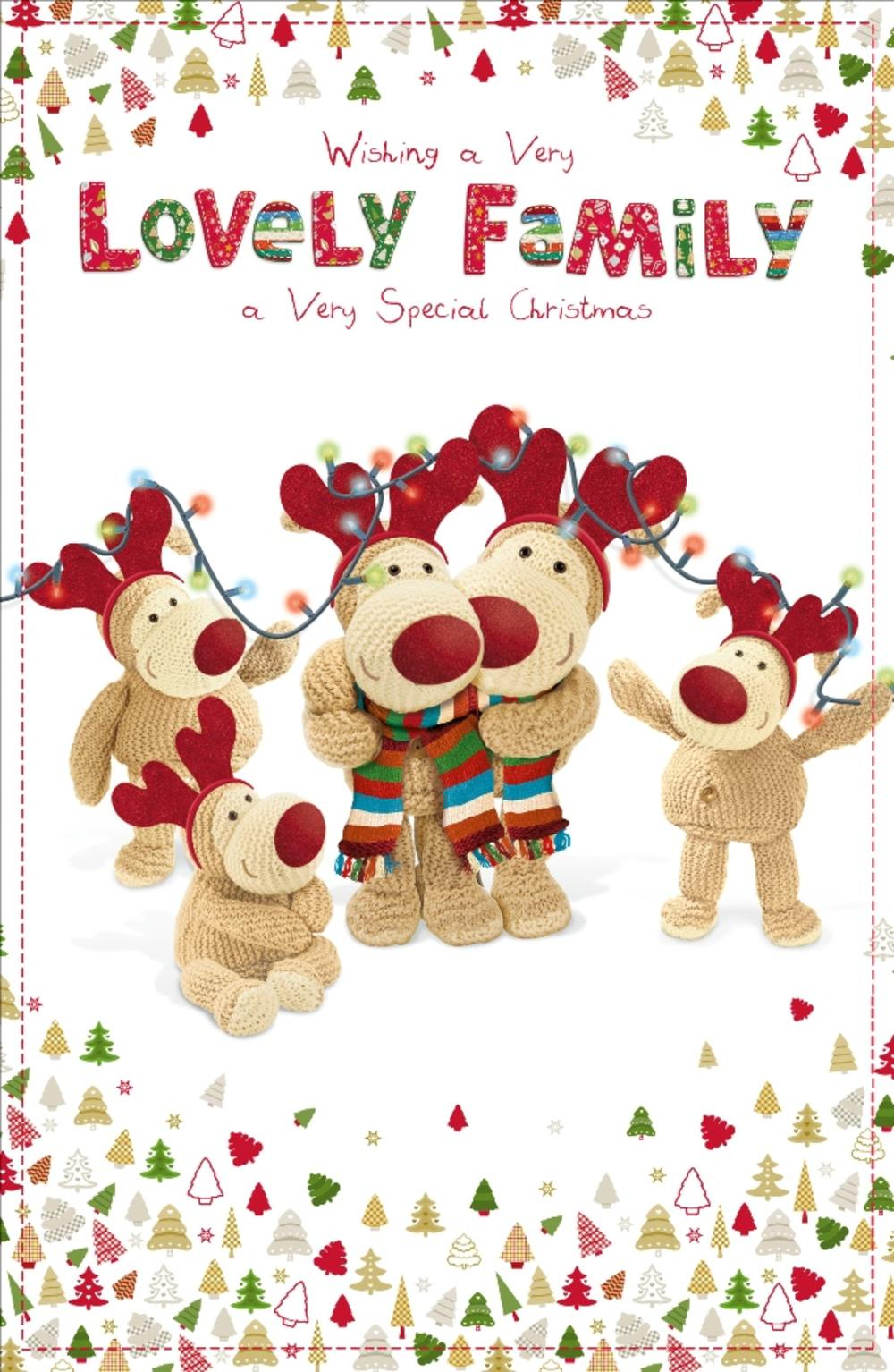 Boofle lovely family christmas greeting card cards love kates boofle lovely family christmas greeting card kristyandbryce Image collections