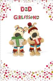 Boofle Dad & His Girlfriend Christmas Greeting Card