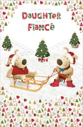 Boofle Daughter & Fiance Christmas Greeting Card