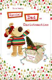 Boofle Special Dad Christmas Greeting Card