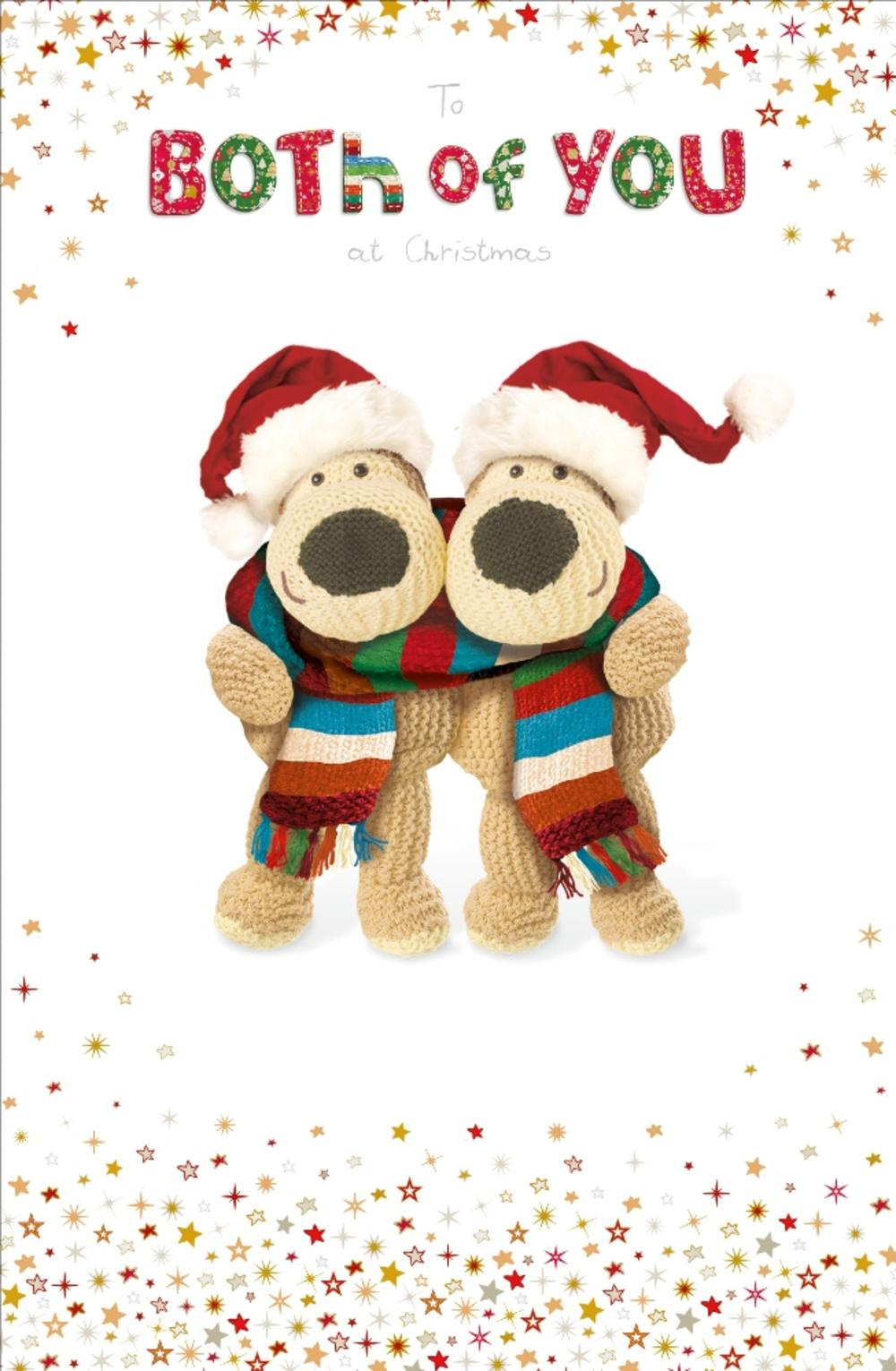 Boofle To Both Of You Christmas Greeting Card