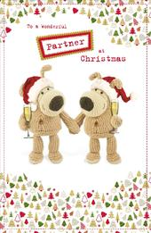 Boofle Wonderful Partner Christmas Greeting Card