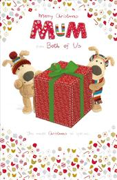 Boofle To Mum From Both Of Us Christmas Greeting Card