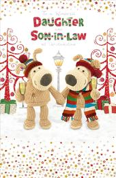Boofle Daughter & Son-In-Law Christmas Greeting Card