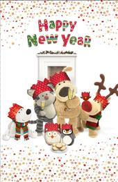 Boofle Happy New Year Greeting Card