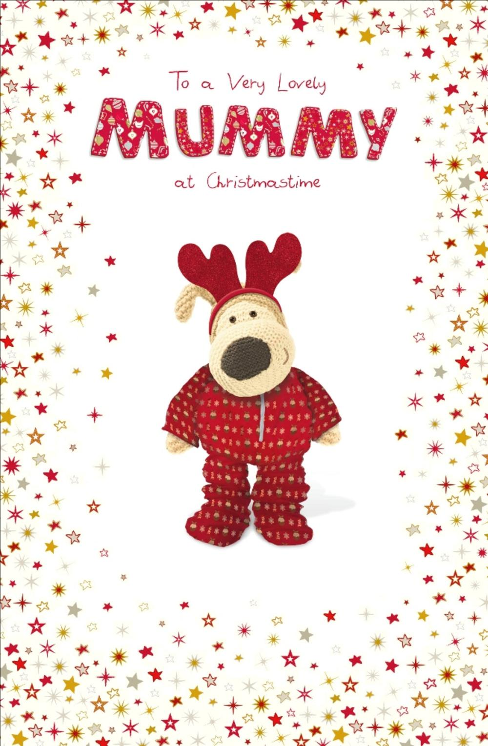 Boofle Lovely Mummy Christmas Greeting Card