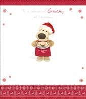 Boofle Wonderful Granny Christmas Greeting Card