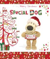 Boofle To The Dog Christmas Greeting Card