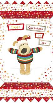 Boofle Small Happy Christmas Greeting Card