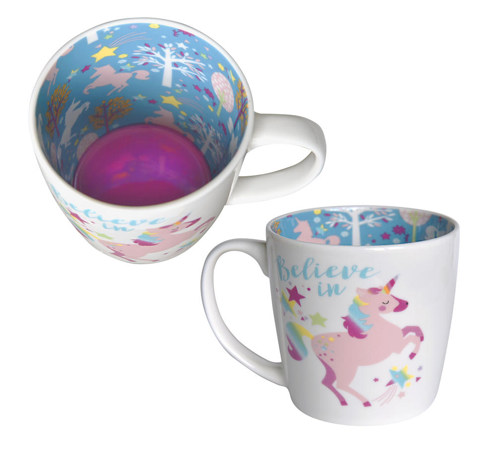 Believe In Unicorns Inside Out Mug In Gift Box