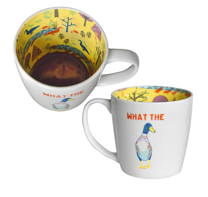 What The Duck Inside Out Mug In Gift Box