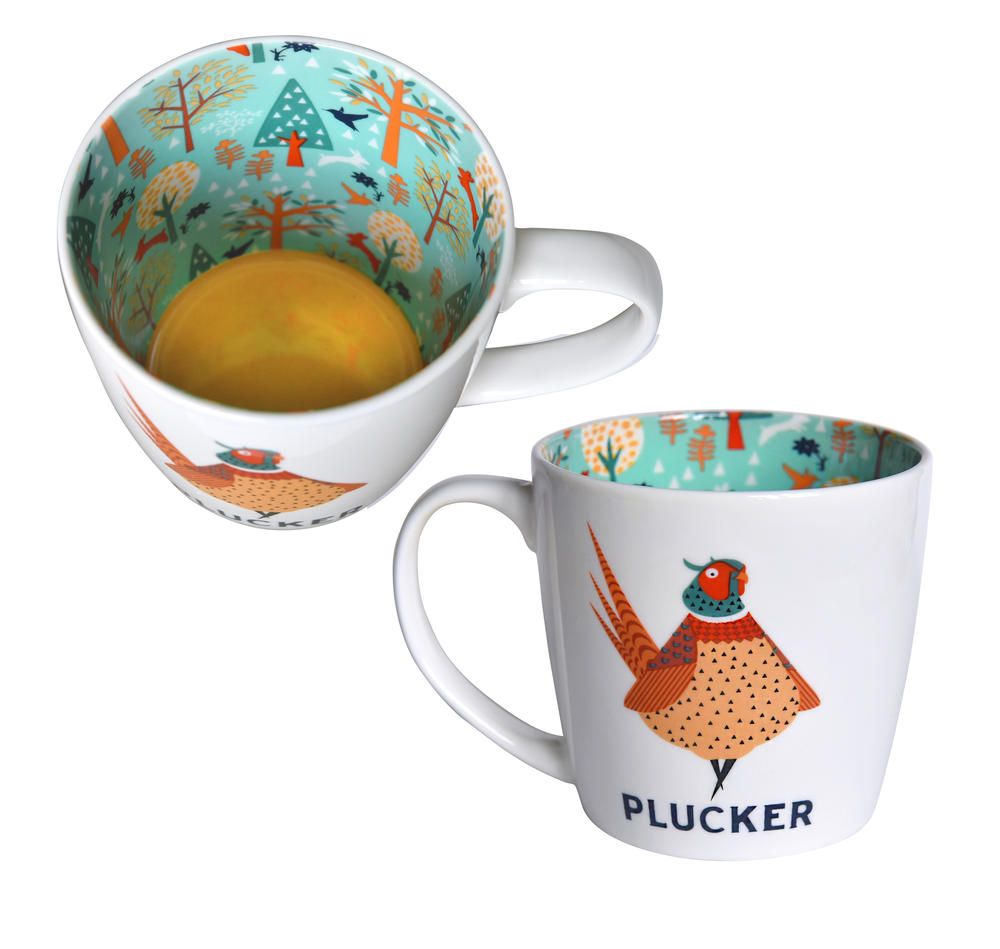 Pheasant Plucker Inside Out Mug In Gift Box