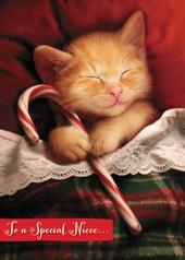 Avanti Niece Funny Christmas Greeting Card
