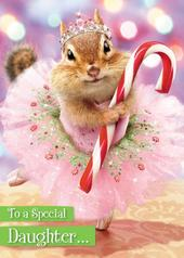 Avanti Daughter Funny Christmas Greeting Card