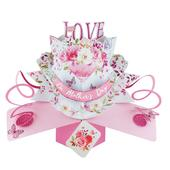 With Love On Mother's Day Pop-Up Greeting Card