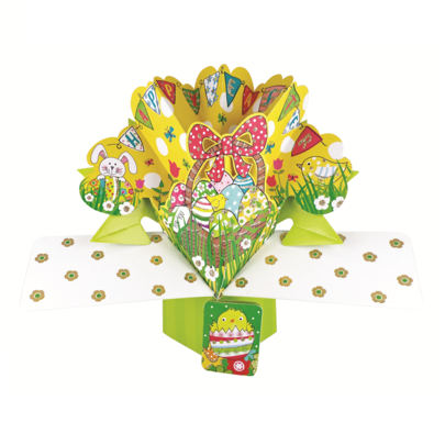 Happy Easter Pop-Up Greeting Card
