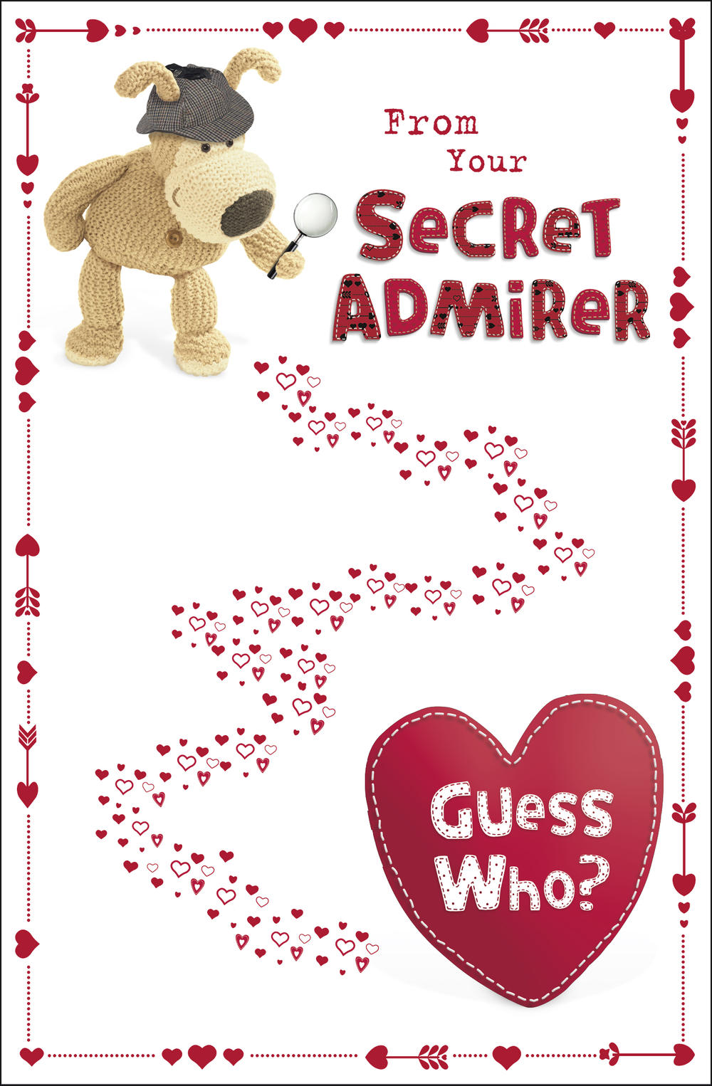 Boofle From Your Secret Admirer Valentine's Day Card
