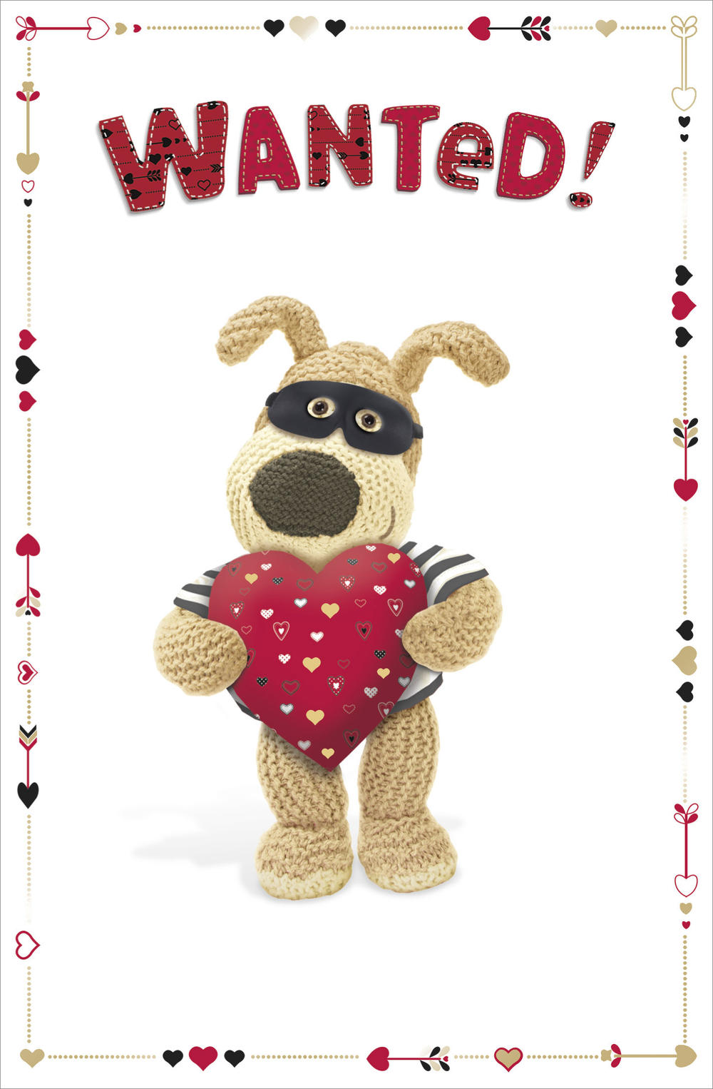 Boofle Wanted! Valentine's Day Card