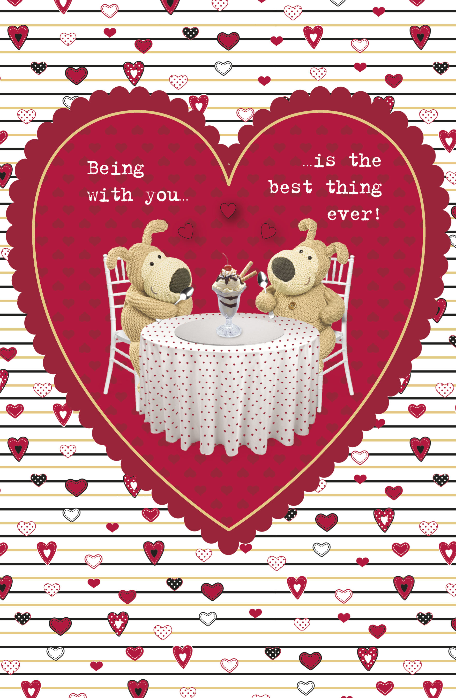 Boofle Best Thing Ever Valentines Day Card Cute Greeting Cards