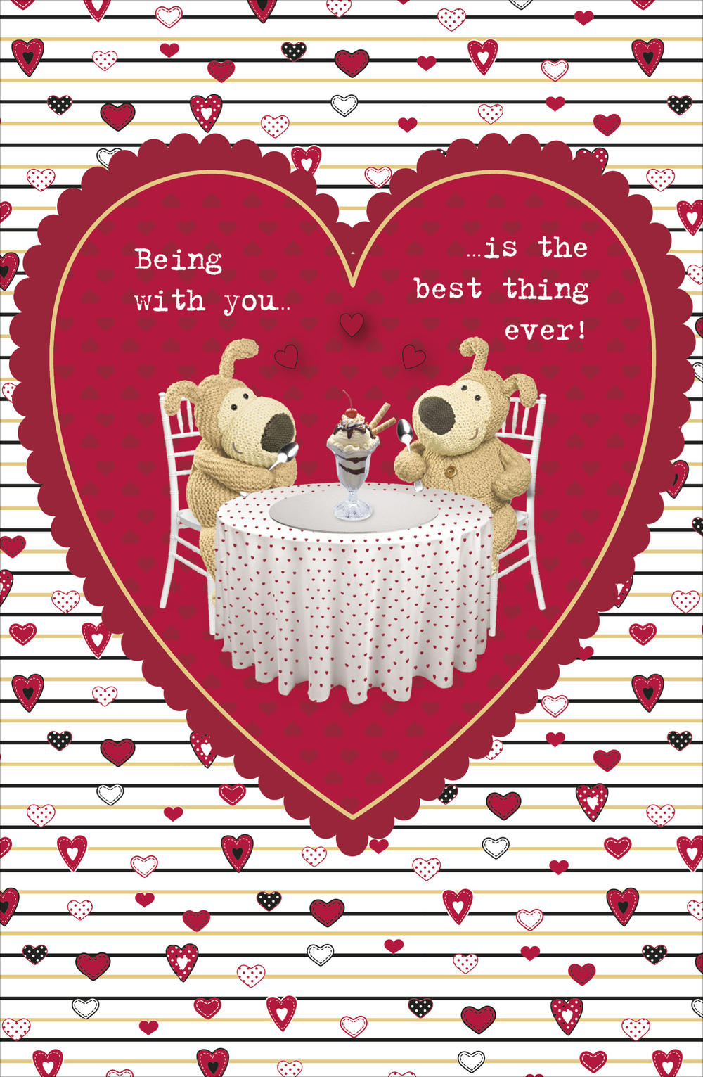 Boofle Best Thing Ever Valentine's Day Card Cute Greeting Cards