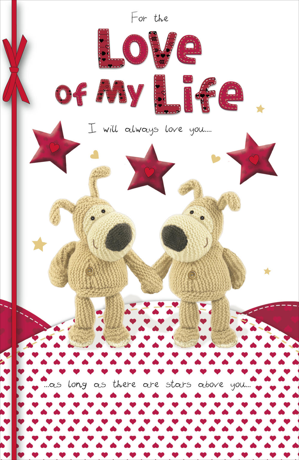 Boofle Love Of My Life Valentine's Day Card
