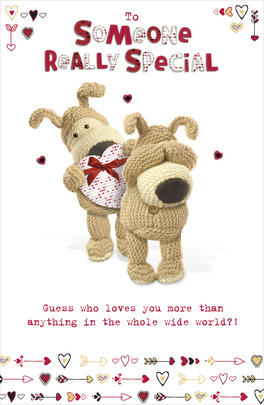 Boofle Someone Special Valentine's Day Card