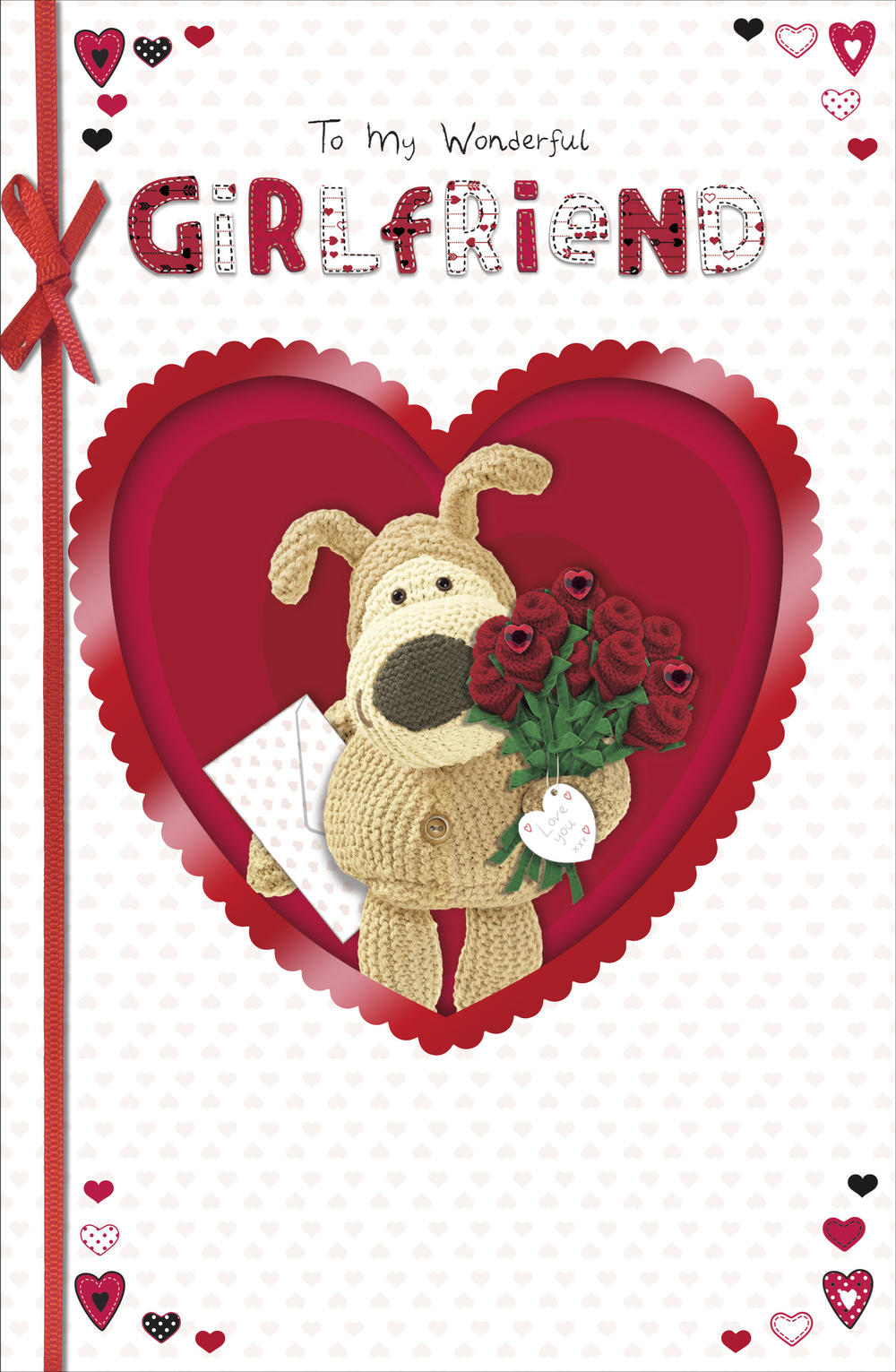 Boofle Wonderful Girlfriend Valentine's Day Card