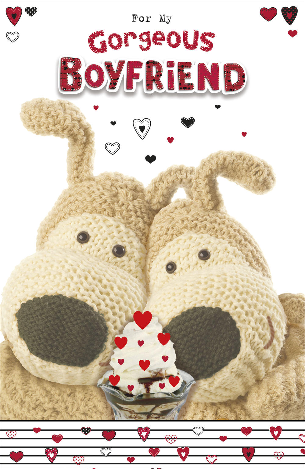 Boofle Gorgeous Boyfriend Valentine's Day Card