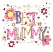 Best Mummy Happy Mother's Day Card