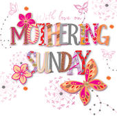Love On Mothering Sunday Mother's Day Card