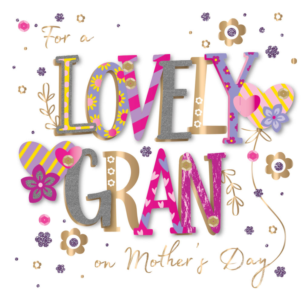 Lovely Gran Happy Mother's Day Card