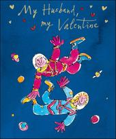 Quentin Blake Husband Valentine's Day Greeting Card