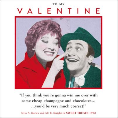 To My Valentine Funny Valentines Day Greeting Card