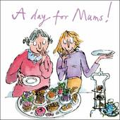 Quentin Blake A Day For Mums Mother's Day Greeting Card