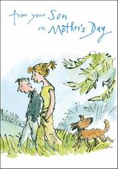 Quentin Blake Mummy From Son Mother's Day Greeting Card