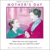 Funny Get Me A G&T Mother's Day Greeting Card